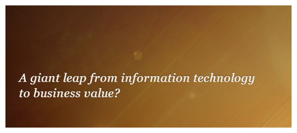 Information technology business value