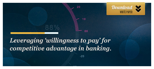 Willingness to pay - banking whitepaper